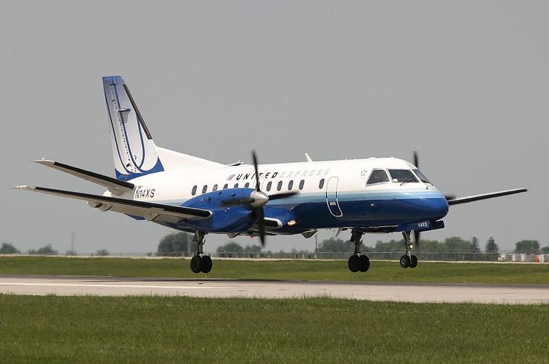 Saab 340 Commuter Plane